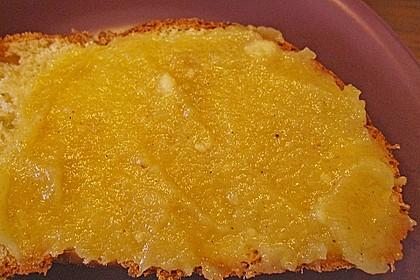 Bratapfel - Samtgelee mit Marzipan