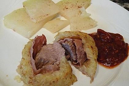 Albertos Schweinefilet in Parmaschinken und Rösti 3