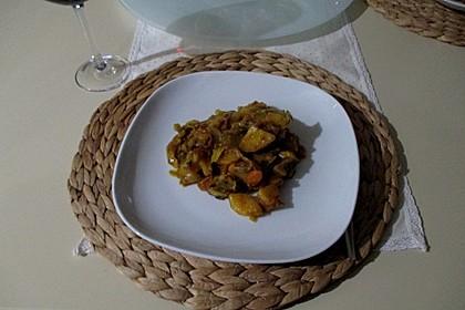 Kartoffel-Wirsing-Curry (Bild)