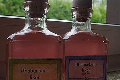 Rhabarber - Vanille - Likör 9