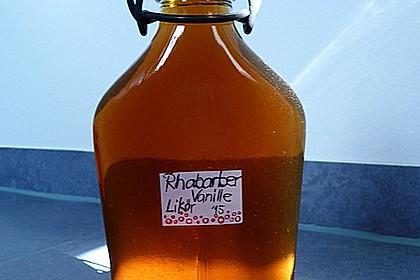 Rhabarber - Vanille - Likör 6
