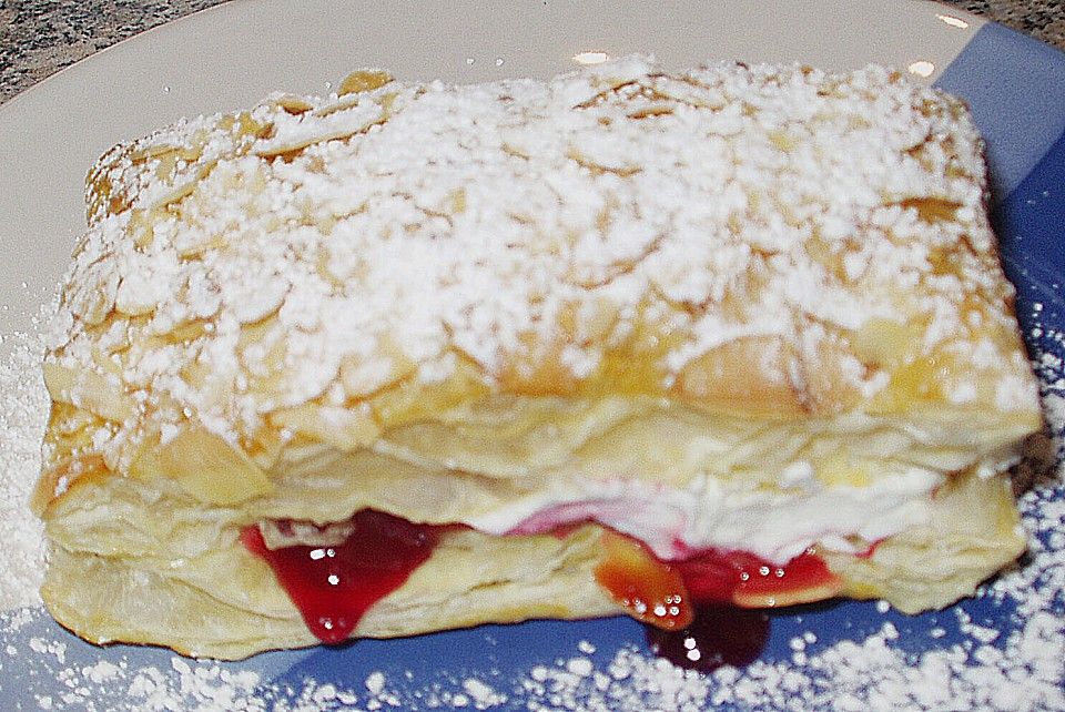 schnelle blätterteig - vanille - teilchen (rezept mit bild ... - Chefkoch Schnelle Küche