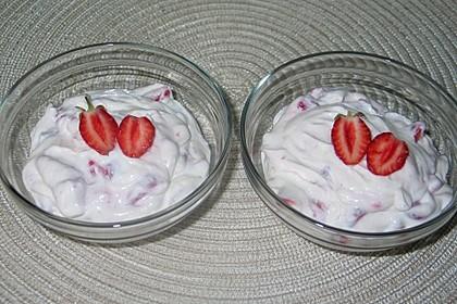 Ricotta mit Erdbeeren 0