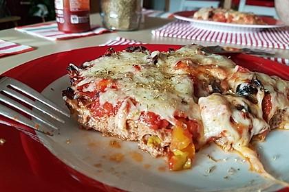 Hackfleischpizza ohne Teig 19