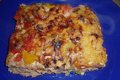 Hackfleischpizza ohne Teig 3