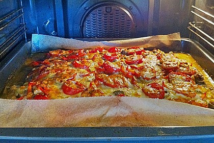 Hackfleischpizza ohne Teig 8