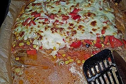Hackfleischpizza ohne Teig 27