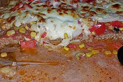Hackfleischpizza ohne Teig 18