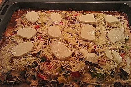 Hackfleischpizza ohne Teig 13
