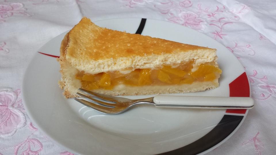Pfirsich kuchen springform