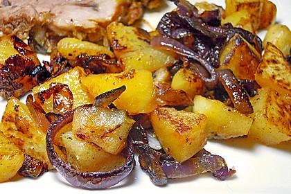 Steckrüben mit Äpfeln und Zwiebeln 1