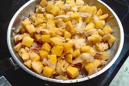 Steckrüben mit Äpfeln und Zwiebeln 8