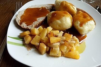 Steckrüben mit Äpfeln und Zwiebeln 3