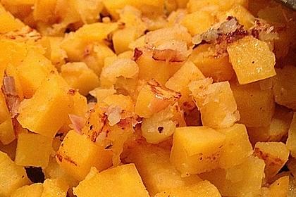 Steckrüben mit Äpfeln und Zwiebeln 4