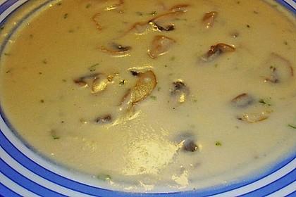 Champignon-Creme-Suppe 13