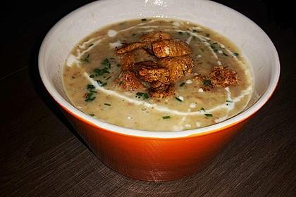 Champignon-Creme-Suppe 9