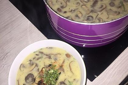 Champignon-Creme-Suppe 10