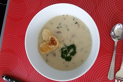 Champignon-Creme-Suppe 19