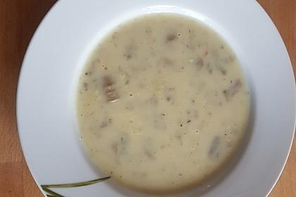 Champignon-Creme-Suppe 16