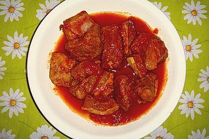 Lamm - Tomaten - Ragout