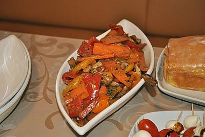 Antipasti - Salat mit Balsamico 1