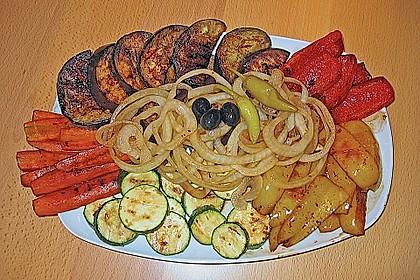 Antipasti - Salat mit Balsamico