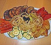 Antipasti - Salat mit Balsamico (Bild)