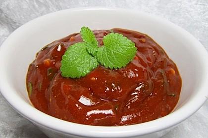 Scharfe Honig-Sauce 16