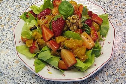 Erdbeersalat in Orangensauce 3