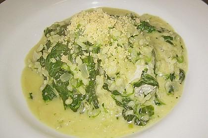 Risotto mit Spinat und Gorgonzola 44