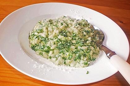 Risotto mit Spinat und Gorgonzola 18