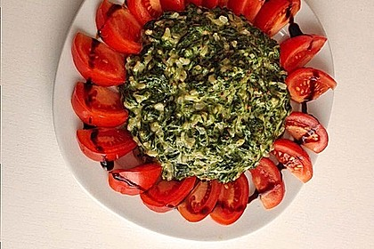 Risotto mit Spinat und Gorgonzola 31