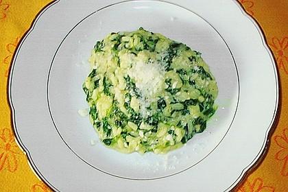 Risotto mit Spinat und Gorgonzola 42