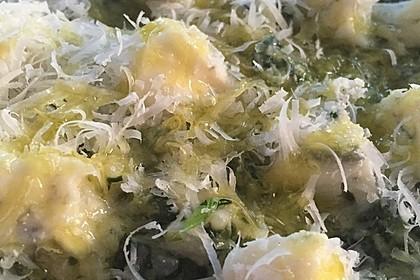 Risotto mit Spinat und Gorgonzola 43