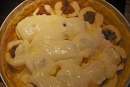 Bratapfelkuchen mit Zimt - Marzipan 38