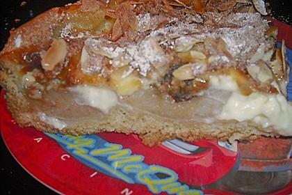 Bratapfelkuchen mit Zimt - Marzipan 44