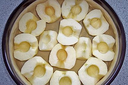Bratapfelkuchen mit Zimt - Marzipan 35