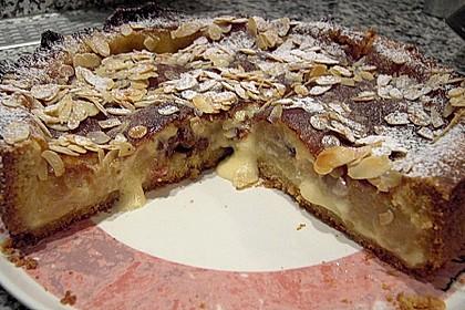 Bratapfelkuchen mit Zimt - Marzipan 18