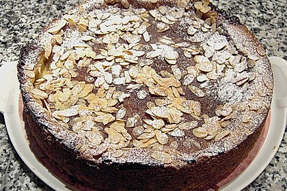 Bratapfelkuchen mit Zimt - Marzipan 28