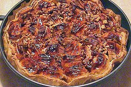 Bratapfelkuchen mit Zimt - Marzipan 42