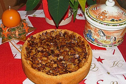 Bratapfelkuchen mit Zimt - Marzipan 16