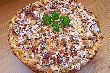 Bratapfelkuchen mit Zimt - Marzipan 5