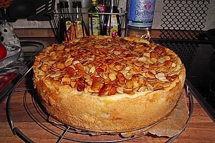 Bratapfelkuchen mit Zimt - Marzipan 27