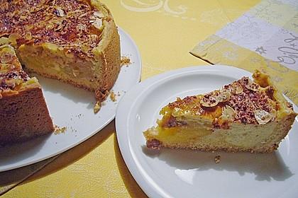 Bratapfelkuchen mit Zimt - Marzipan 9