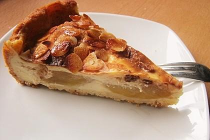 Bratapfelkuchen mit Zimt - Marzipan 1