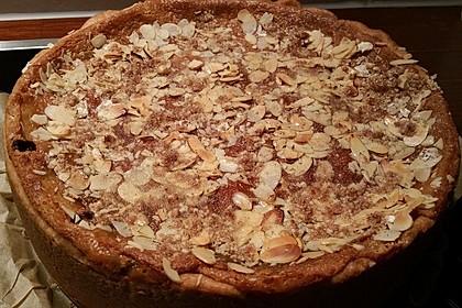 Bratapfelkuchen mit Zimt - Marzipan 29
