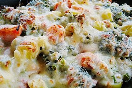 Brokkoli Blumenkohl Gratin 14