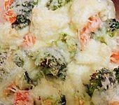 Brokkoli - Blumenkohl Gratin (Bild)