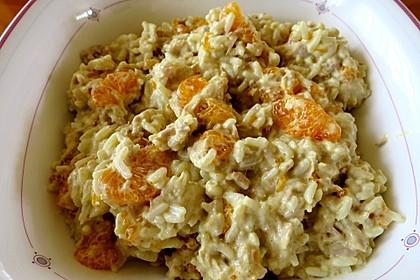 Fruchtiger Thunfisch - Curryreis - Salat (Bild)