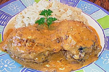 Curryhähnchen mit Reis 5